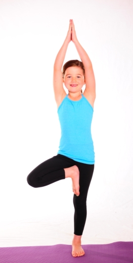 8 YOGA POSES FOR KIDS