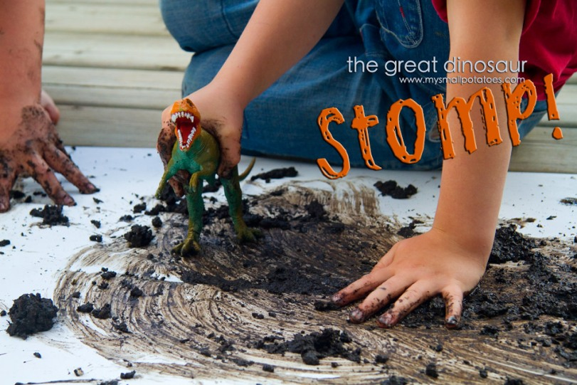 The Great Dinosaur Stomp Small Potatoes
