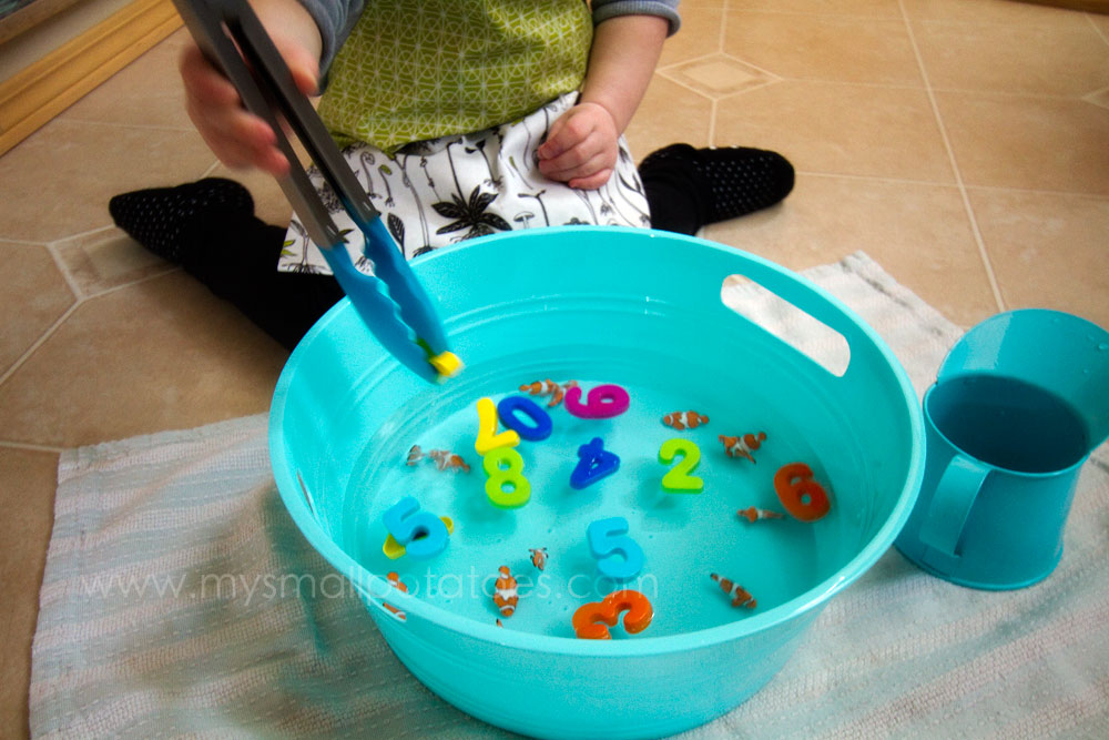 1 fish 2 fish 3 fish clownfish a one to one for Fish for toddlers