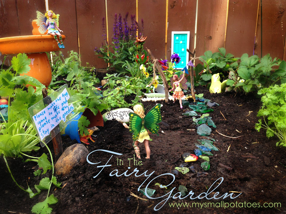 In The Fairy Garden A Very Magical Diy For Kids Small Potatoes